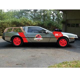 Jurassic Park Car Decal Uk
