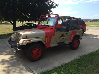 jurassic park jeep view topic not for sale. Black Bedroom Furniture Sets. Home Design Ideas