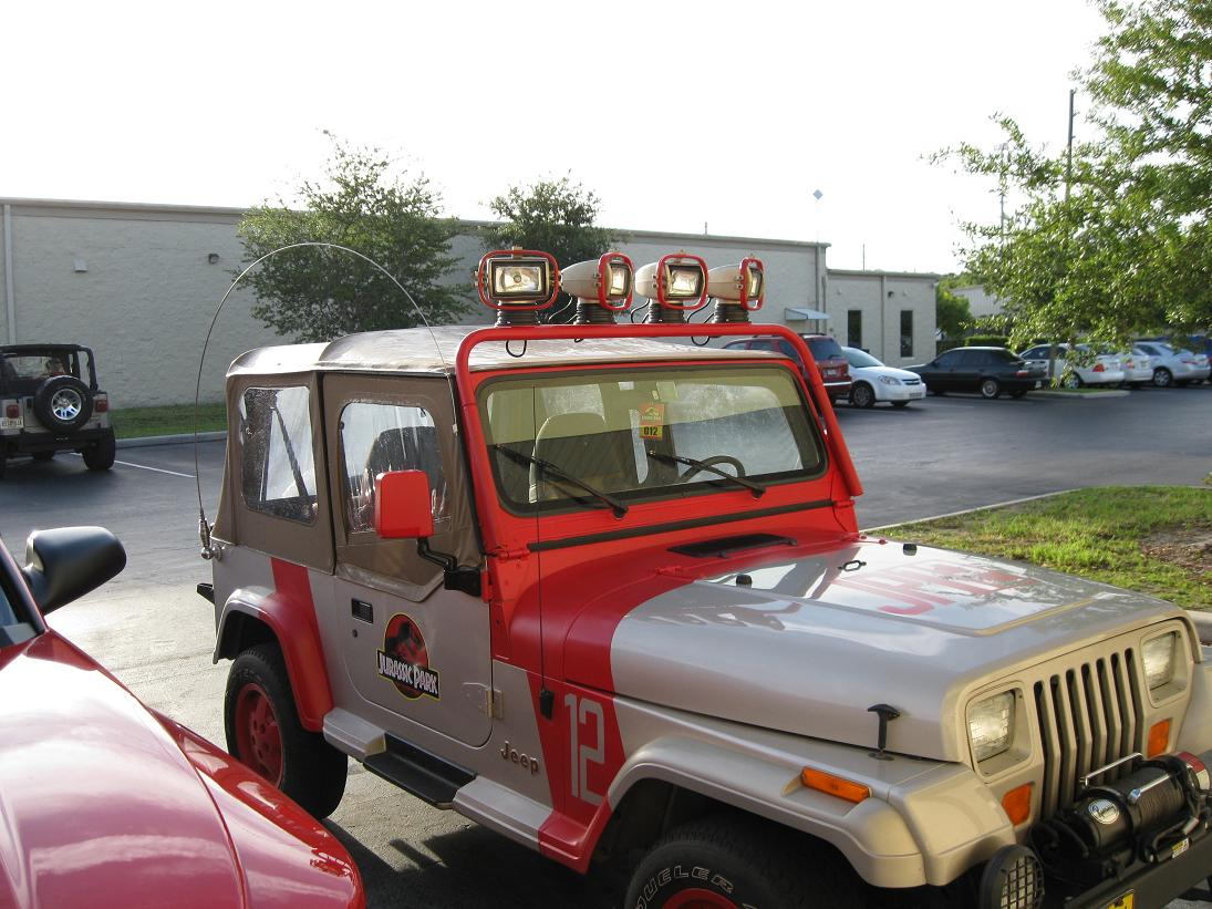 Imcdb Org 1993 Jeep Wrangler Sahara Yj In Quot Jurassic