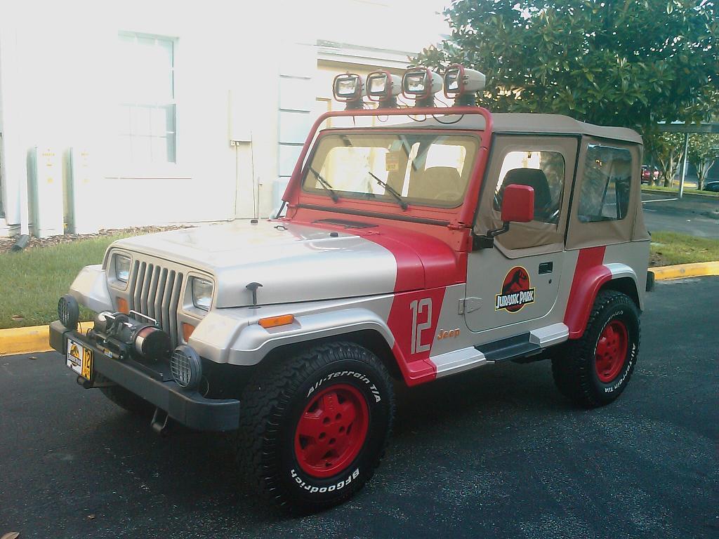 jurassic park jeep • view topic - cyrix's jp jeep #12